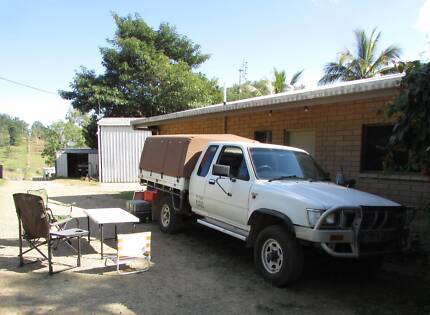 1997 Toyota Hilux Ute Xcab, 4X4 with canopy Proserpine Whitsundays Area Preview