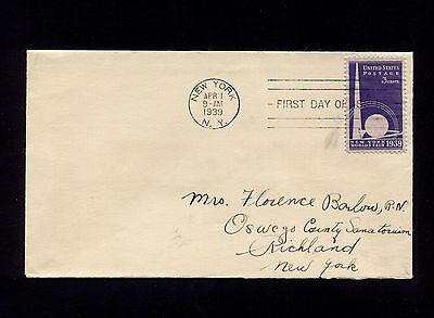 1939 NEW YORK NY WORLD'S FAIR SC853 FDC