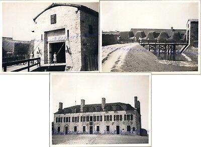 1941 Fort Niagara French Castle Machicolated House Draw Bridge Entrance Photos