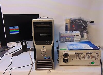 Pentax Video Processor Epk-1000 With Dell T3500 Monitor Accessories - S3816