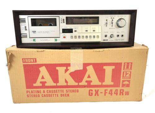 Vintage Akai GX-F44R Stereo Cassette Deck w/ Original Box / CLEAN & TESTED