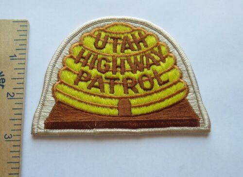 UTAH HIGHWAY PATROL PATCH Vintage Original