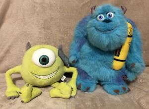 Disney Monsters Inc. Talking Sully & Mike Plushes