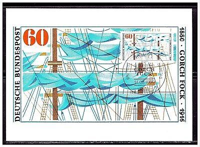 Gorch Fock , MK 1980, Mi-Nr: 1058 , ESST Bonn - Bundesdruckerei
