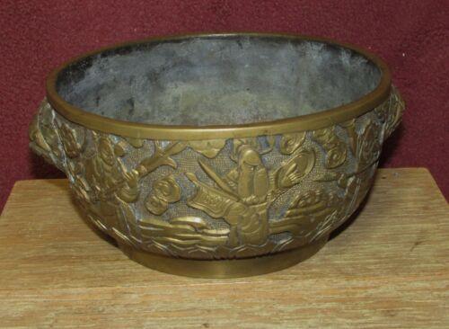 Antique Chinese Bronze Censer Signed