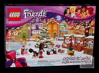 Lego Friends   Advent Calendar   2015   41102   New Sealed