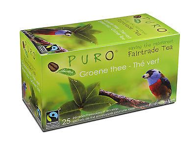 Puro Grün (Puro Fairtrade Tee Grüntee im Aromabeutel 150 Stück )