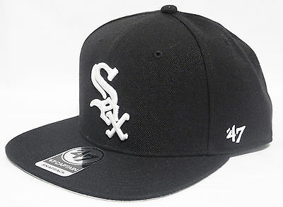 47 BRAND CHICAGO WHITE SOX VINTAGE  TUPAC POETIC BLACK  SNAPBACK HATS CAP ()