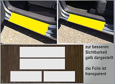 Lackschutzfolie transparent Einstiege Türen passgenau für VW Touran 1, Bj. 03-10