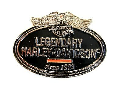 MOTORRAD Pin / Pins - HARLEY DAVIDSON LEGENDARY since 1903
