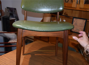 TABLE & 6 CHAIRS RETRO TEAK FURNATURE, 9 PIECE MATCHING DINING Beverley Park Kogarah Area Preview