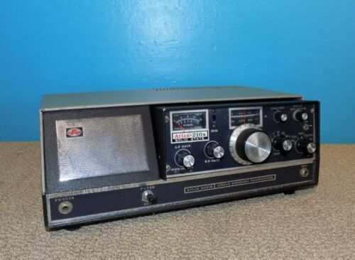 Atlas 210X Solid State SSB Transceiver w/ Console Great Condition Free Shipping