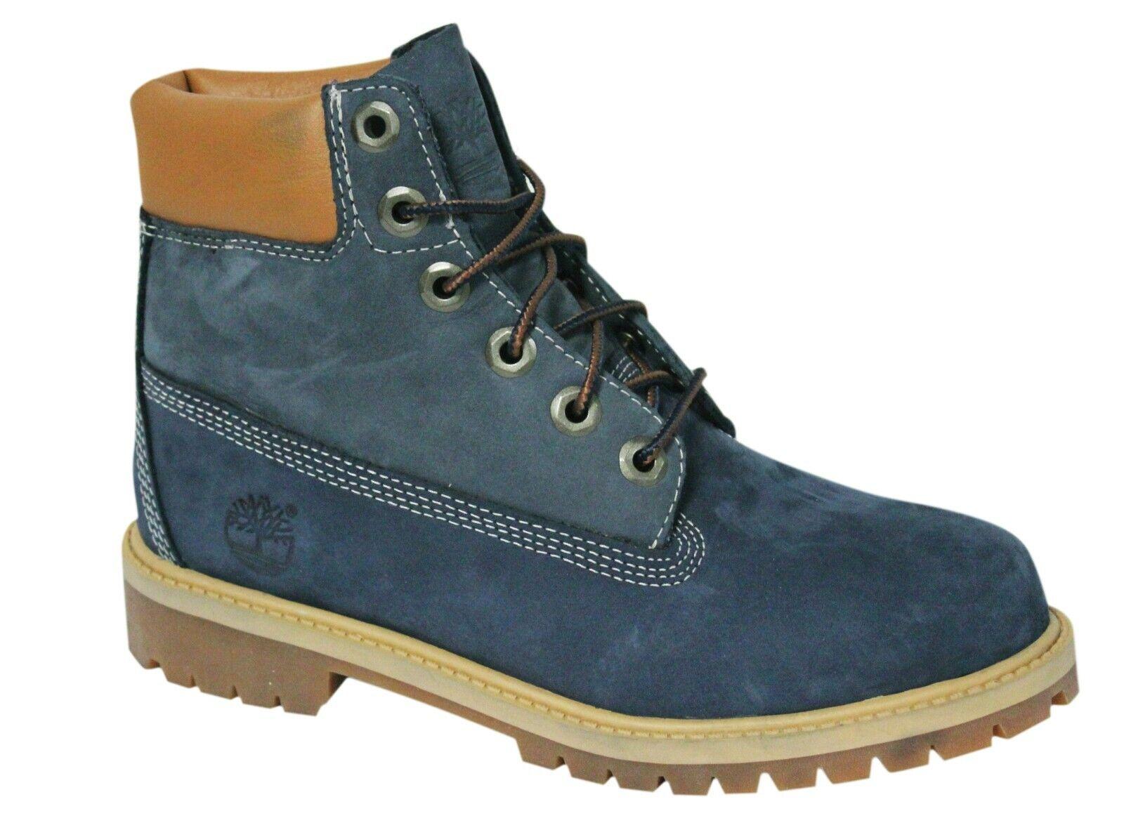 Details about Timberland 15.2cm premium waterproof leather boots lace juniors a14zd b58e show original title