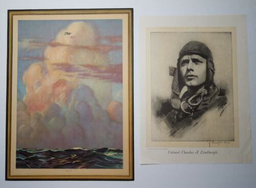 """Vintage 1927 """"WE"""" by Kverne LINDBERGH """"The Lone Eagle"""" + McCall"""