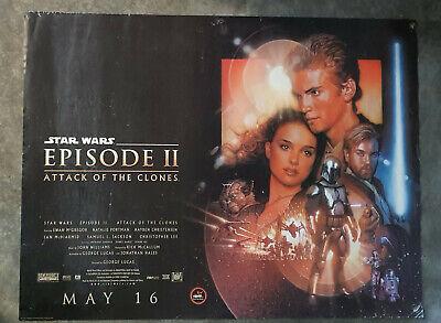 Star Wars Episode 2: Attack of the Clones original D/S quad film cinema poster