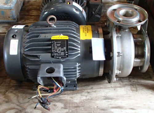 "20 HP SCOT MOTORPUMP Mod 245 3PH 208-230/460 SS 3500rpm 7.25"" Impeller Baldor 20"