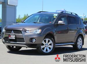2013 Mitsubishi Outlander XLS 4X4 | HEATED LEATHER | BACK UP...