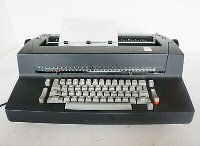 Vintage Iconic Ibm Selectric Ii Typewriter Black Correcting