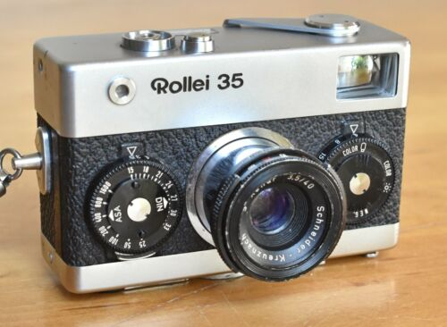 Rollei 35 Camera w/ Schneider Xenar 40mm 3.5 Lens