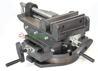 Hd 6 Cross Vise Two Way Slide 360 Swivel Vise Drill Press Milling Machine