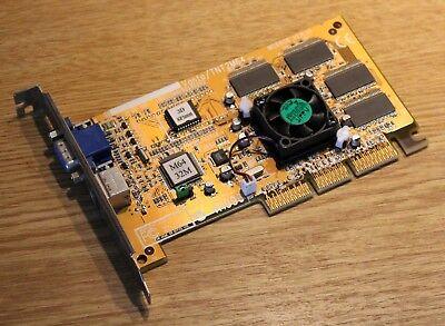 Tnt2 M64 32 Mb (MSI Nvidia Vanta / TNT2 M64 32MB RAM VGA TV-Out AGP )