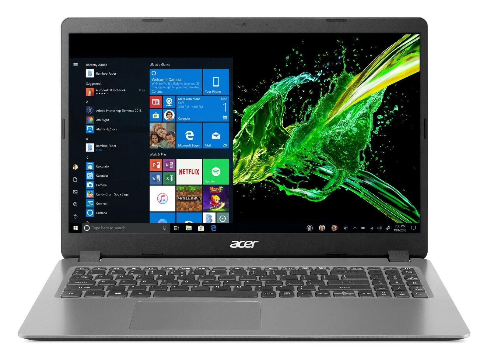 """Laptop Windows - NEW Acer Aspire 3 15.6"""" FHD Intel i5-1035G1 8GB DDR4 256GB SSD HDMI Windows 10"""