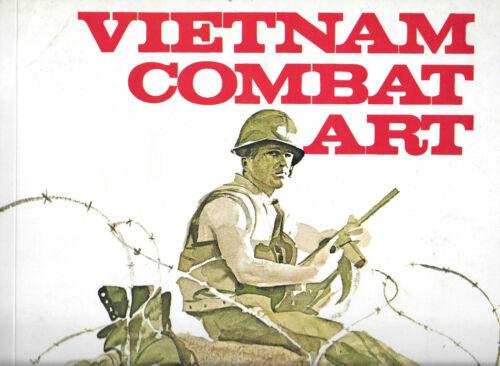1968 Vietnam Combat Art Book