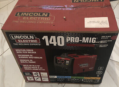 Lincoln Electric 140 Pro Mig Welder K2480-1 Flux Cored Wire Feed ----h30