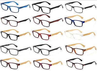 Reading Glasses Classic Retro Stylish Men Women Spirng Hinge Frame Slim (Stylish Reading Glasses For Women)