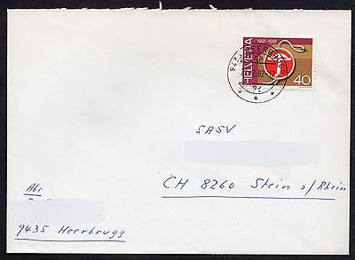 Switzerland: Cover with 1981 40c publicity stamp