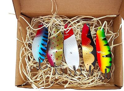 weedless fishing lure ,anti snag fishing bait, handmade gift box ,pike tackle