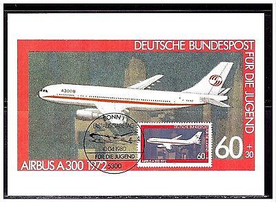 Jugend 1980 - Luftfahrt , MK 1980, Mi-Nr: 1042 , ESST Bonn - Bundesdruckerei