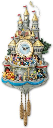 Disney Cuckoo Clock Has 43 Characters Lights Music and Motion
