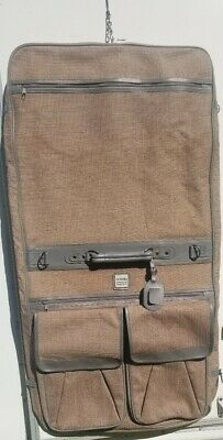 "Vintage Suitcase Luggage Novita Designed by Paolo Gucci 22"" RARE Garment Bag"