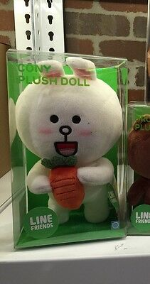 Brand New  Naver Line Character Cony Bunny Standing Plush Official Item 25Cm