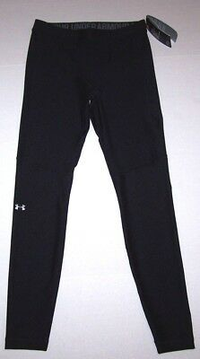 Nwt New Under Armour UA Compression Leggings Pants Fitted HeatGear Black