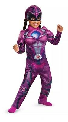 NWT Disguise Power Rangers Pink Ranger Toddler Girls Costume Size 2T](Pink Power Ranger Costume Toddler)