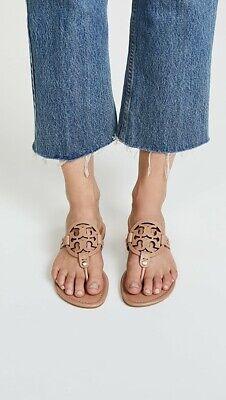 B-995 Tory Burch Miller Leather Flip Flop Women's Sandal Size 6 M US