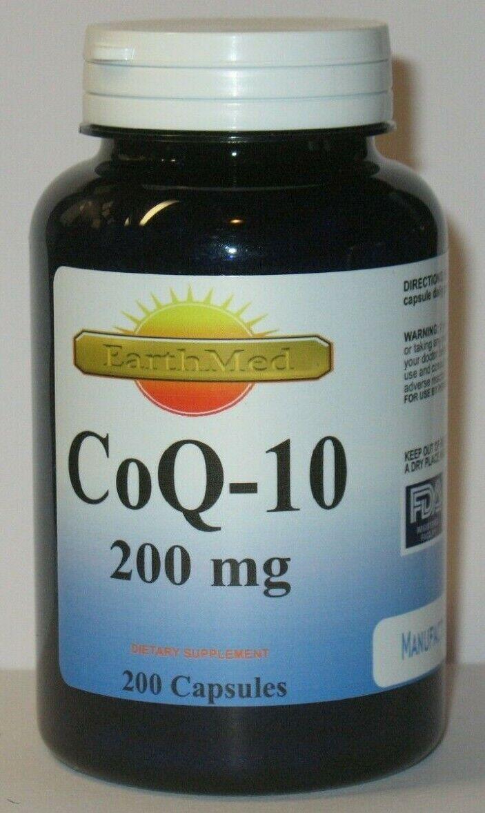 CoQ-10 200mg 200Capsules Coq10 Co Q10 Coenzyme Anti Aging Ca