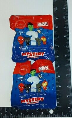 Lot 2x Hallmark Marvel Series 1 MYSTERY Ornament Two (2) Packages New Rare Chase