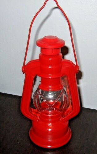 AVON Red Country Lantern Wild Country After Shave Perfume Bottle Empty
