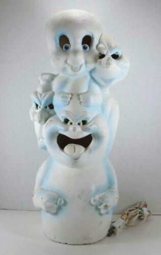 Trendmasters Vintage Casper The Friendly Ghost Movie Foam Blow Mold Totem Lamp