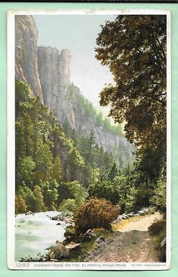 CHIMNEY ROCK. EL PORTAL STAGE ROAD. YOSEMITE, CALIFORNIA. 1913. DPO.
