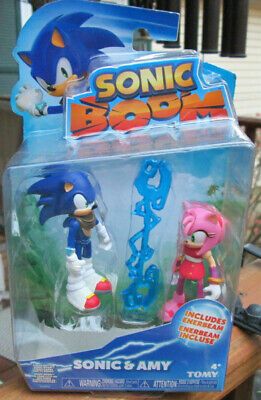 SONIC BOOM AMY Rose Sonic FIGURE SET Sonic The Hedgehog 2 pack Toy Super rare ()