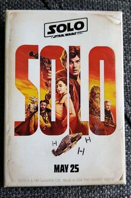 Disney Hollywood Studios Solo Star Wars Movie Opening Day Pin