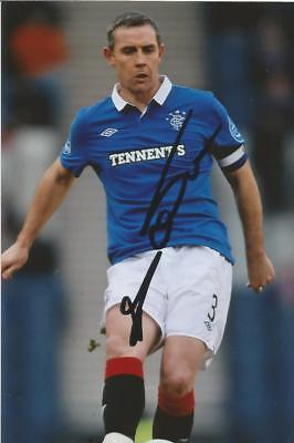 RANGERS: DAVID WEIR SIGNED 6x4 ACTION PHOTO+COA