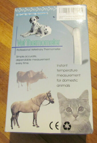 Animal Vet Thermometer Veterinary Thermometer Pet Dog Cat - Fast Ship