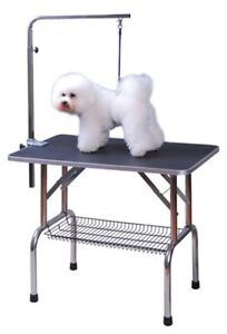 Table de Toilettage Pliante pour Animaux
