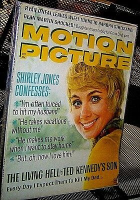 Motion Picture Magazine May 1971 Betty Grable Shirley Jones Flip Wilson Kennedy