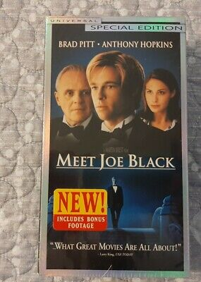 Meet Joe Black (VHS 1999 Special Edition) NIP Sealed -